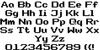 Super Legend Boy Font Letters Charmap