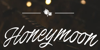 Honeymoon PERSONAL USE Font design text