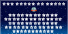 DJB Shape Up Stars Font design screenshot