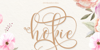 hokie Font poster