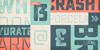 Sucrose Bold Two DEMO Font cartoon poster