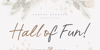 Hall Of Fun DEMO Font text design