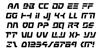 Command Override Italic Font Letters Charmap