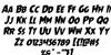 Mrs. Monster Rotalic Font Letters Charmap