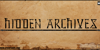 Hidden Archives Font handwriting text
