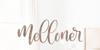 Melloner Font design handwriting