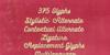 Bukhari Script Font text book
