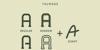 TRUMANS Font screenshot
