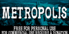 CF Metropolis Serif Font poster screenshot
