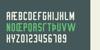 Turbonacular Demo Font design text