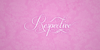 Respective Font handwriting design