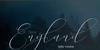 England Bold Font handwriting accessory