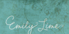 Emily Lime Words Font text