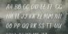 Vingiloth Font blackboard text