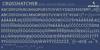 Crosshatcher Font text screenshot