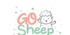 Go Sheep Font cartoon design