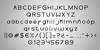 Moiser Font typography screenshot