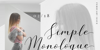 Simple Monologue DEMO Font handwriting design