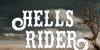 Hells Rider Decay Font poster text