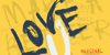 Vtks Love U Font text poster