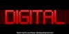 Digital tech Font abstract screenshot