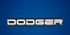 Dodger Font screenshot electric blue