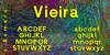 Vieira Font screenshot text