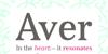 Aver Font screenshot design