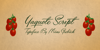 Yaquote Script Personal Use Font handwriting letter