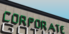 Corporate Gothic NBP Font building outdoor