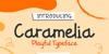 Caramelia Font poster