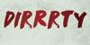 DK Dirrrty Font drawing handwriting
