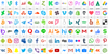 Icons Color 128 Font screenshot design
