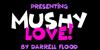 Mushy Love Font poster design