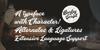 Barley Script PERSONAL USE Font handwriting text