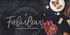 Jandys dua Font blackboard menu