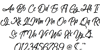 Amazing Kids Font Letters Charmap