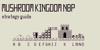 Mushroom Kingdom NBP Font screenshot abstract