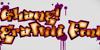 Ghang  Font cartoon design