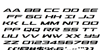 Outrider Italic Italic Font Letters Charmap