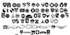 US Army II Font Letters Charmap