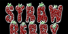 Strawberry Font food heart