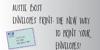Austie Bost Envelopes Print Font text