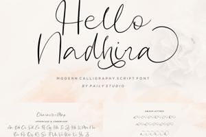 Hello Nadhira