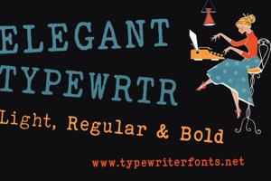 ELEGANT TYPEWRITER