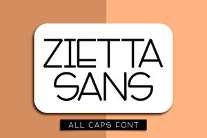 Zietta Sans