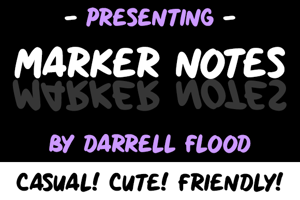 Marker Notes