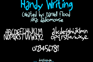 Handy Writing