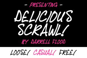 Delicious Scrawl