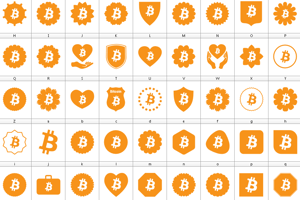 Font Bitcoin Color